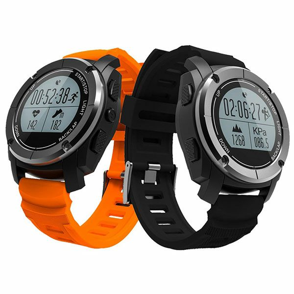 Fitness Tracker, Smart Watch Built-in GPS Heart Rate Monitor Professional Sport Modes Waterproof